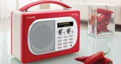 pure evoke radio