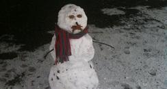 Matt Wilkinson's snowman