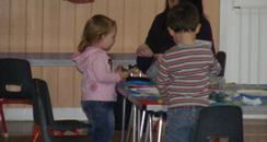 Broom Pre School children
