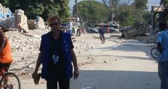 Colchester firefighter helps Haiti