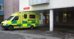 Entrance with Ambulance