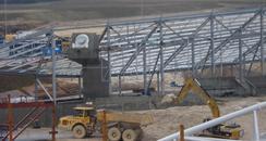 Falmer Stadium Feb 2010