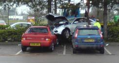 Bicester Tesco car crash