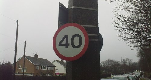 40 Speed Limit
