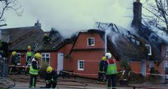 Abbots Ripton Fire
