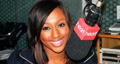 Alexandra Burke in Heart studio