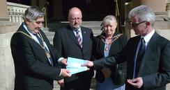 Election Notice Handed Over in Northampton