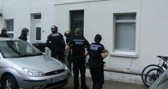 Police raid in Eastbourne