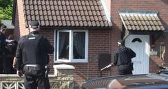 Cheltenham police raids