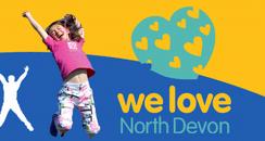 We Love North Devon logo
