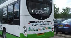 driving country roads campaign