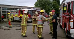 Fire Service Crash Exercise