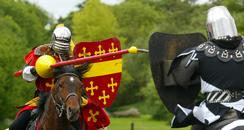 Jousting at Warwick