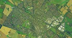 Aerial View of Bicester