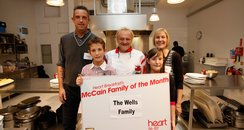 Wells family of the month