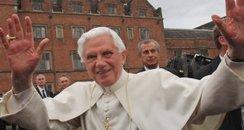 pope benedict state visit