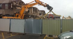 Edith Cavell Demolition