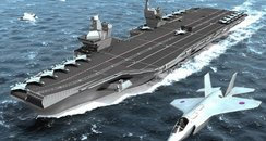 HMS Queen Elizabeth will look like this