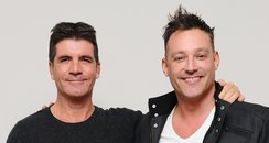 Simon Cowell and Toby Anstis