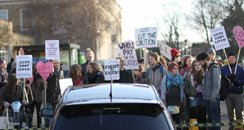 Cambridgeshire Cuts Protest