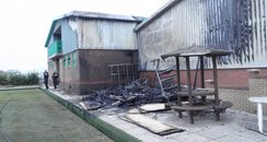 Fire at Bowls Club
