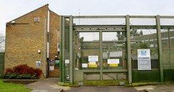 Entrance to Cookham Wood YOI