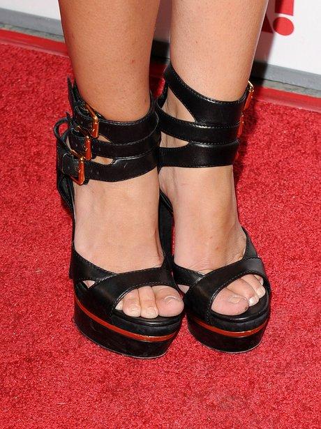 hairy maid stockings bikini Celebrity shoes