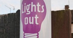 Street lights out - Northampton