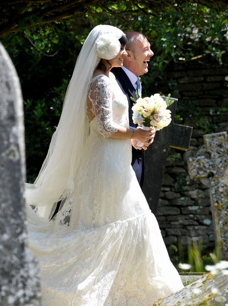 lily allen wore delphine manivet for her wedding to sam