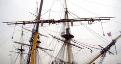 HMS Victory mast