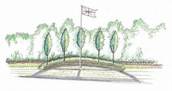 Memorial Garden Large