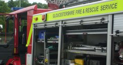 Glos fire engine