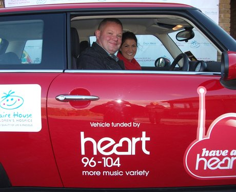 Heart's Mini for Claire House