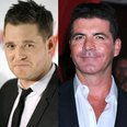 michael buble and simon cowell