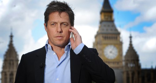 Hugh Grant in London