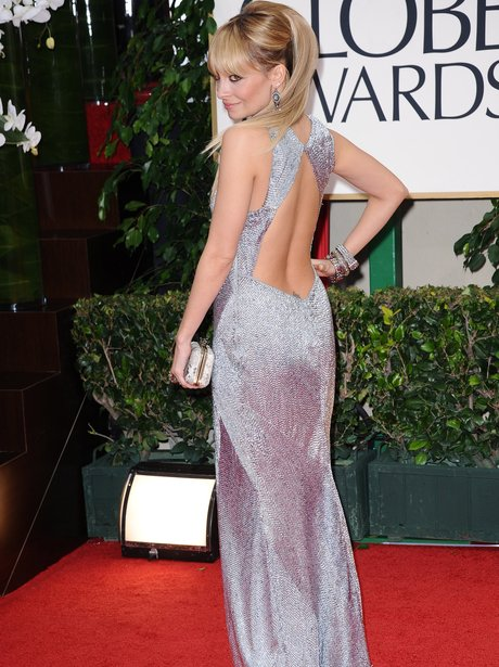 Nicole Richie Best Dressed Golden Globes 2012