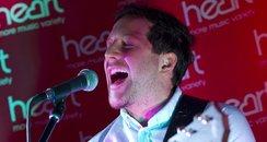 Matt Cardle on Stage at the Heart Cambridgeshire L