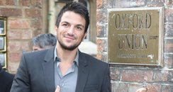Peter Andre at the Oxford Union