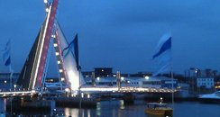 Twins Sails Bridge opens!