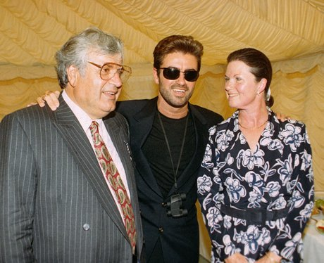 Photo of George Michael & his  Mother  Lesley Angold Panayiotou
