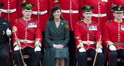 Duchess of Cambridge on St Patrick's Day