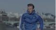 David Beckham running