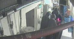 Banana Wharf robbery