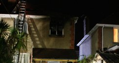 Fareham house fire, Hampshire Fire Service