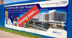 Lister Hospital Stevenage New A&E