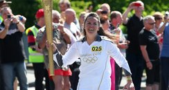 Olympic Torch comes to Mid Wales