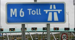 M6 Toll booths