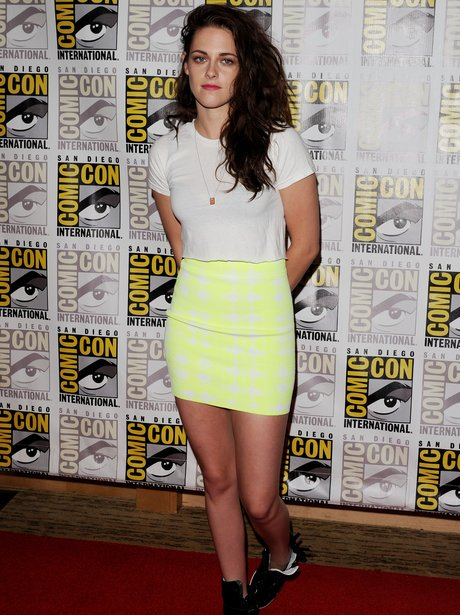 Kristen Stewart attends 2012 Comic Con The Twiligh