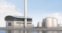 Artists Impression of new Shoreham Power Station