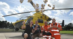 Wiltshire Air Ambulance teddy bears